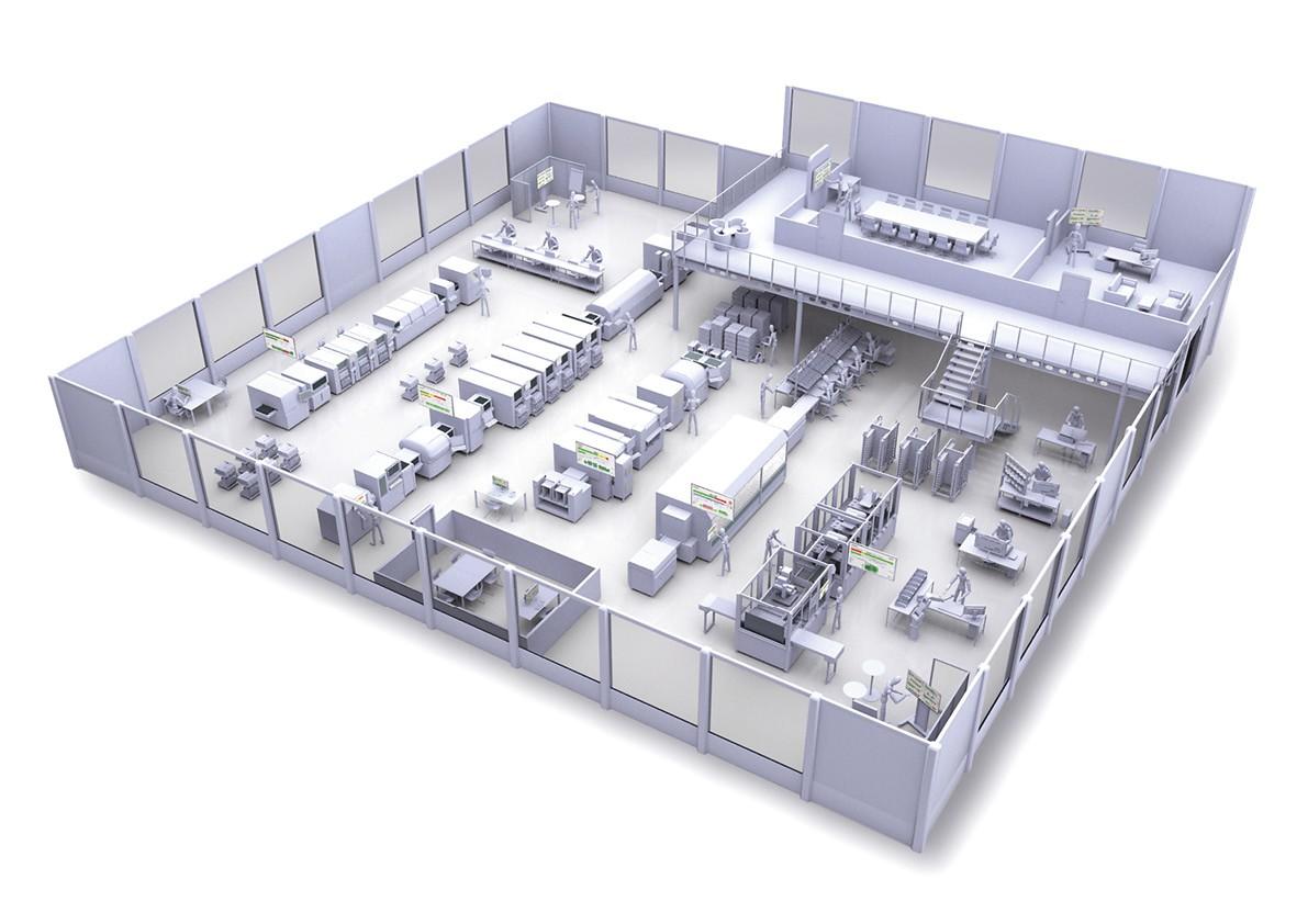 MES PRO X Elektronik Shopfloor